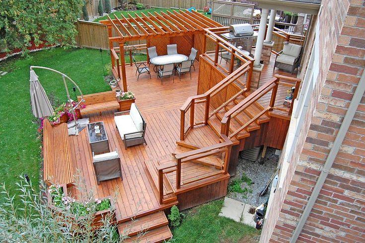 Plus de 1000 idées à propos de Garden sur Pinterest Feu de bois - Terrasse Suspendue Bois Prix