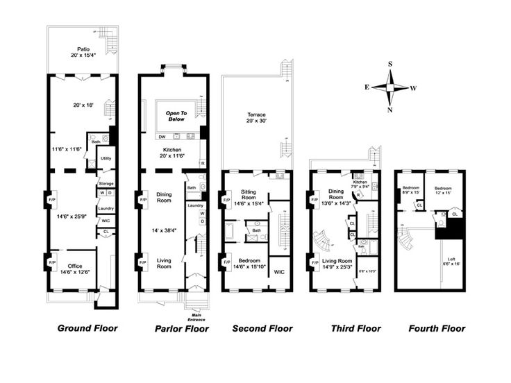 24 Best 4 Plex Plans Images On Pinterest