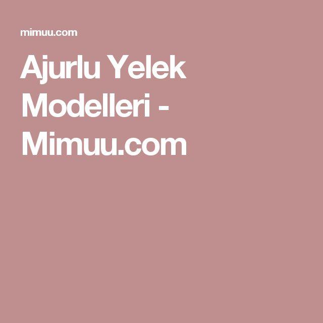 Ajurlu Yelek Modelleri - Mimuu.com