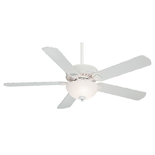 Ainsworth Gallery Cottage White Three-Light 60-Inch Ceiling Fan
