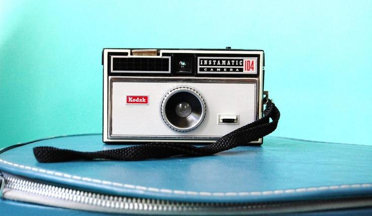 Vintage Camera Kodak Instamatic 104 1960s by OttolinesOddities