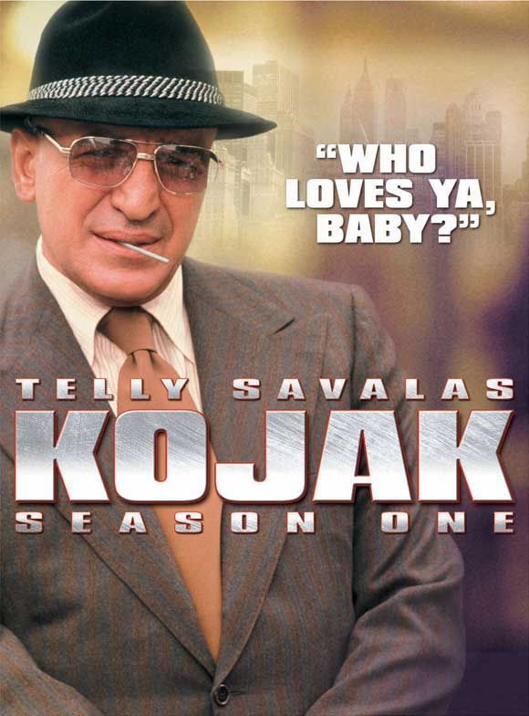 Telly 'Who loves ya, Baby?' Savalas ~ Kojak ~ 1970s series.