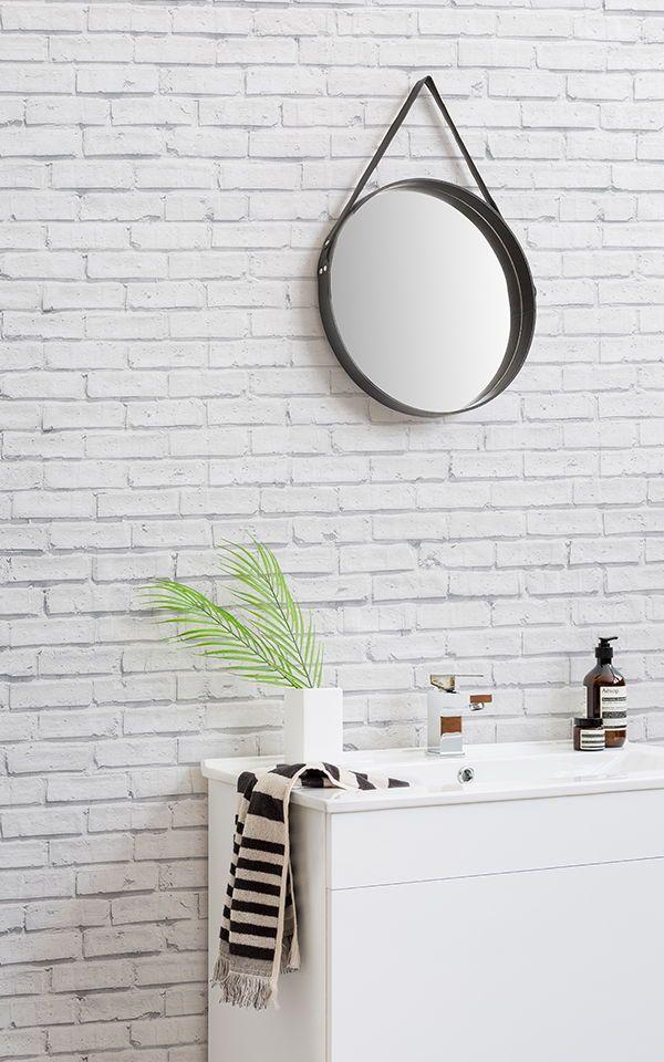 Brilliant White Washed Brick Wall Wallpaper Muralswallpaper Home Download Free Architecture Designs Ogrambritishbridgeorg