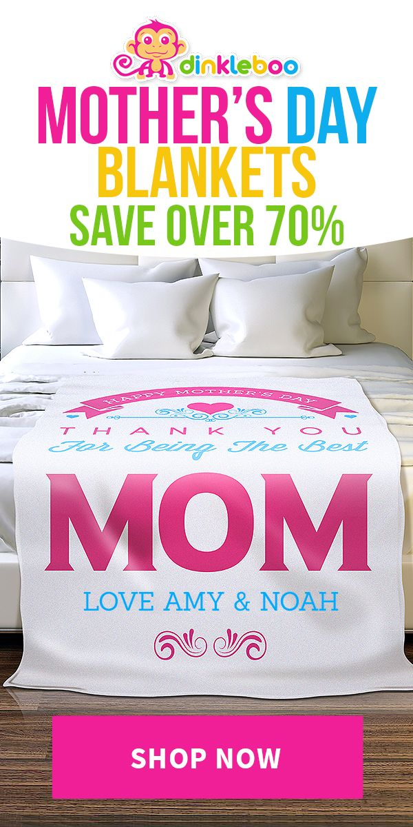 Mom Would Love One Of These Personalized Blankets This Mother S Day