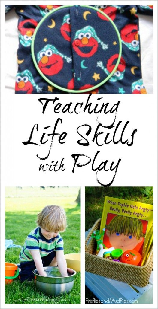 An amazing collection of activities for teaching life skills to young children through play.