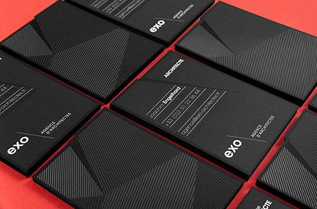 Murmure – Visual identity for EXO architectural agency