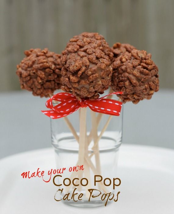After-School Treat: Coco Pop Cake Pops