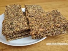 Pitten lijnzaad crackers | KoolhydraatarmRecept.nl