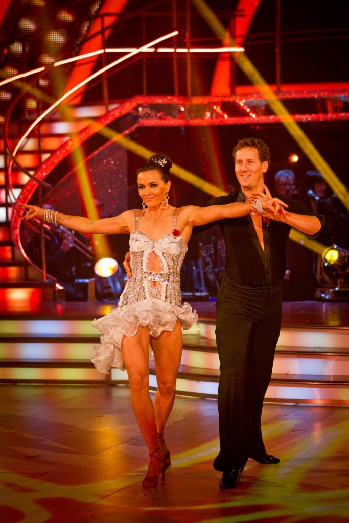 Strictly Come Dancing 2012   British Olympic cyclist Victoria Pendleton & pro dancer Brendan Cole –  BBC's Strictly Come Dancing – Photographer: Guy Levy