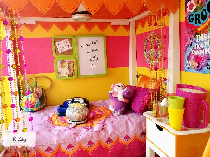 1000 images about american girl julie 39 s bedroom doll dollhouse on pinterest disco ball - American girl bedroom ideas ...