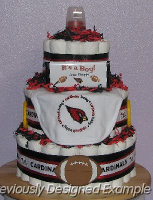 20 best Cardinals Cakes images on Pinterest Arizona cardinals Cup
