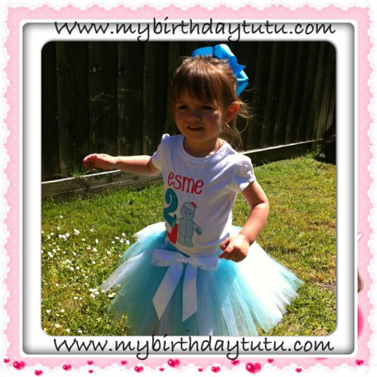 In the night garden - iggle piggle- my birthday tutu Australia- we make gorgeous baby and toddler party outfits for special little people <3