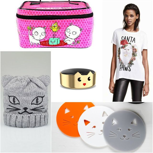 Mini guide: 5 #cat themed #Christmasgifts for #catladies. fun and #quirky
