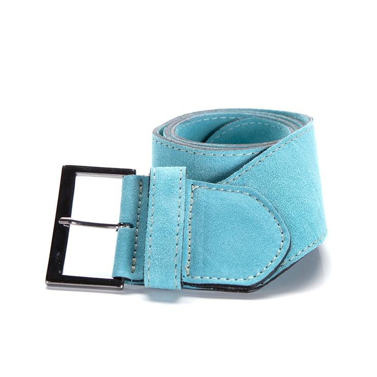 Cinturón de ante turquesa. Por solo 29 euros . CINTURONES DE SHOES FOR HER