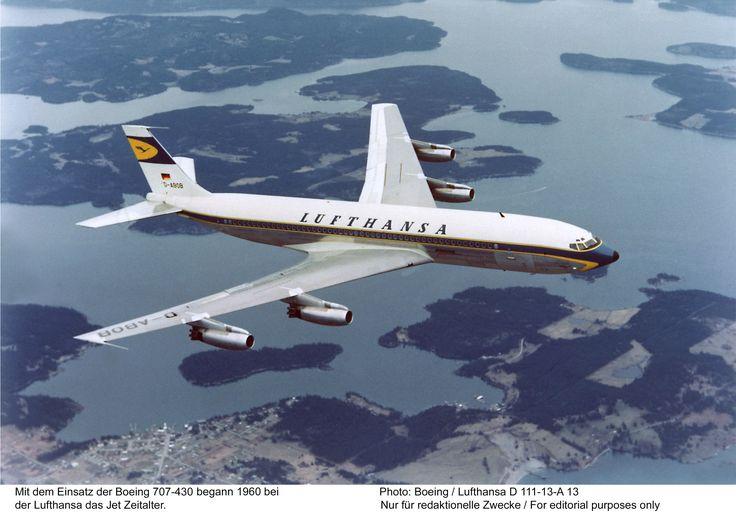 Boeing 707 (Lufthansa)  #boeing #b707