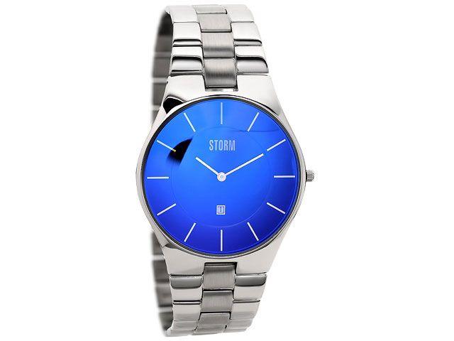 Storm 47159B SlimX Lazer Blue Bracelet Watch - F.Hinds