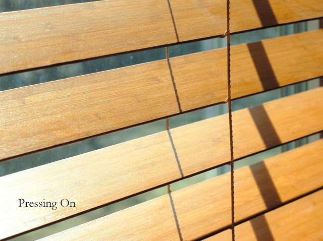 Pressing On: How to easily clean wood and faux wood blinds