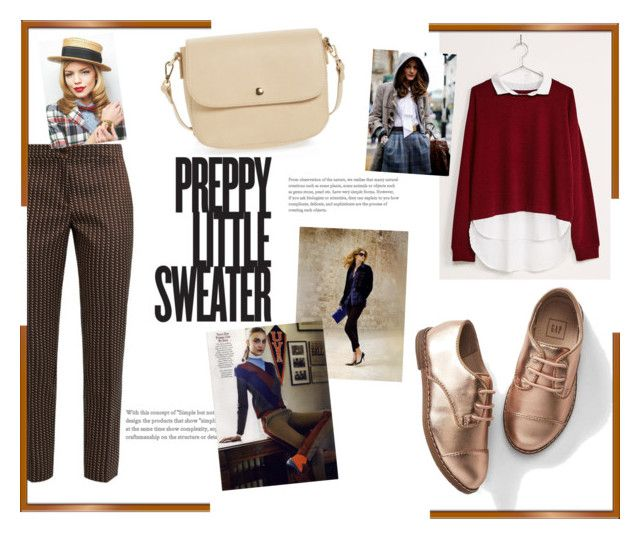 """""""Preppy"""" by spencer-hastings-5 ❤ liked on Polyvore featuring Bershka, Gap, Etro, GE and BP."""