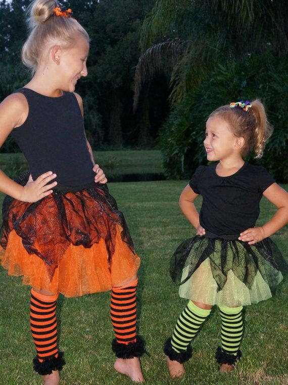 Halloween Tutu Witch Costume