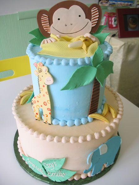 Simple Baby Shower Cakes Pinterest