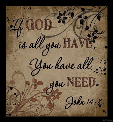IF GOD IS ALL YOU Have Wood Sign Inspiration Primitive Country Rustic Home Decor | eBay