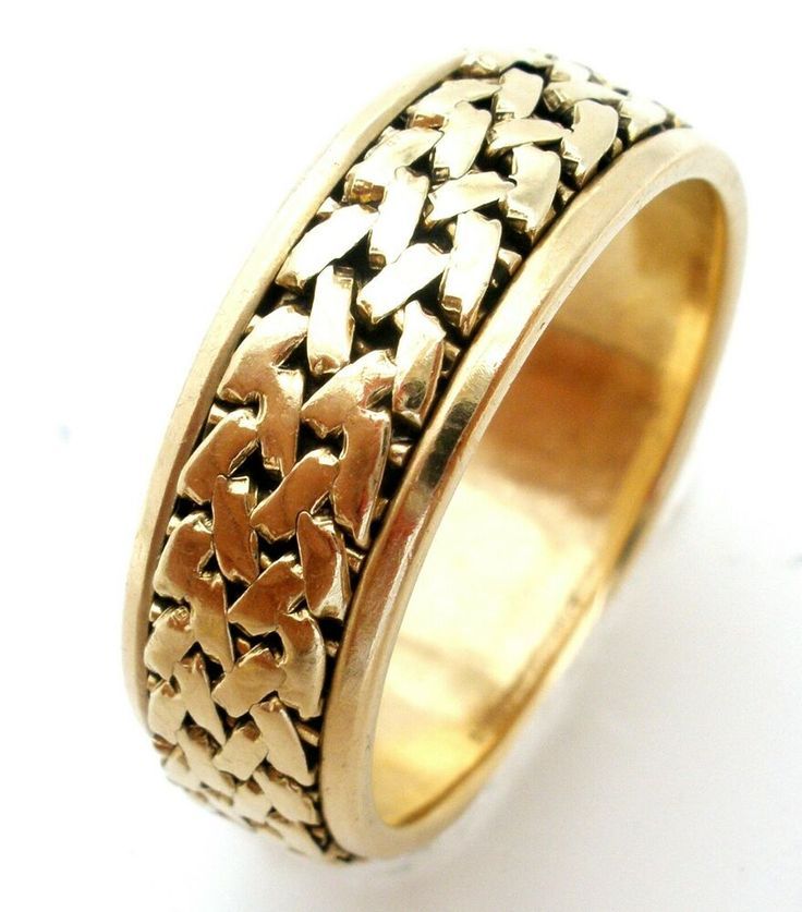Artcarved 14k yellow gold wedding band size 10 mens 75mm