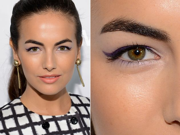 The stunning Camilla Belle has hooded eyes like me! (I'm a little obsessed with hooded eyes now that I know I have them. I've been finding a lot of tips for making my eyes look the best they can. And I love that celebrities have this type of eyelid too :))
