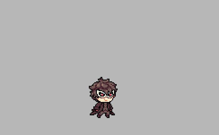 """""""Practicing pixel animation with Joker and Arsene"""""""