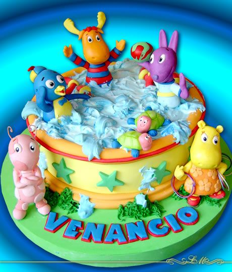 Sugerencias Fiesta Backyardigans on Pinterest | Cupcakes, Nick Jr ...
