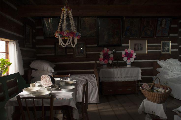 Polish cottage XVIII-XIX century
