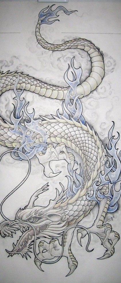 Dragon Tattoo Design | Tattoo Ideas Central                                                                                                                                                                                 More