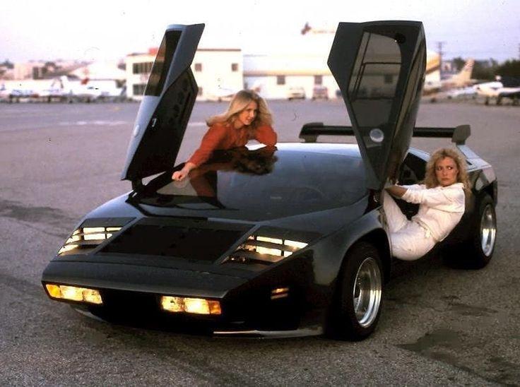 1980 model 80s sport cars fast car black lambo
