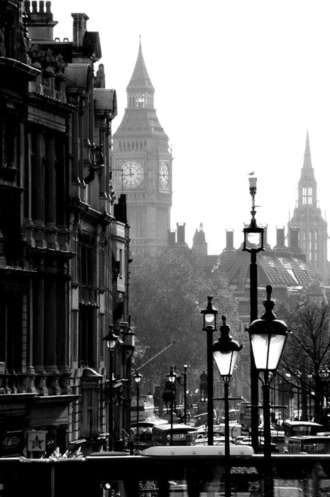 London the best city to view in black and white or any other color