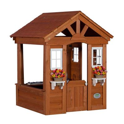 Found it at Wayfair Supply - Columbus All Cedar Playhouse