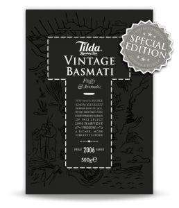 Vintage Basmati - Tilda Basmati Rice | Tilda Basmati Rice
