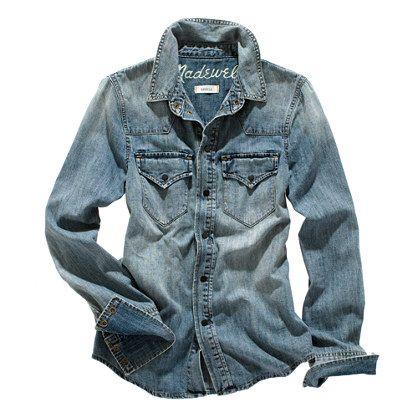Madewell Western Denim Shirt