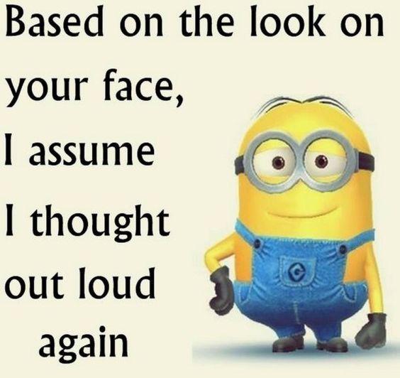 30 Funny Minion picture Quotes #Funny Minions #LOL... - 30, Funny, funny minion quotes, Funny Quote, Lol, Minion, Minions, picture, Quotes - Minion-Quotes.com
