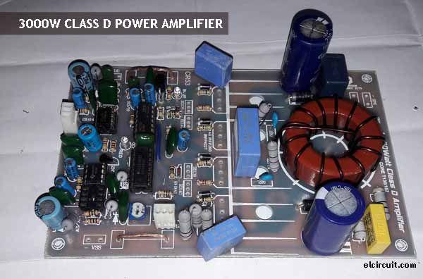 3000W Power Amplifier