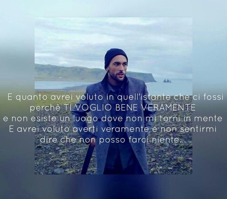 Marco Mengoni Ti ho voluto bene veramente testo #MarcoMengoni #paroleincircolo #tihovolutobeneveramente #frasi #testi #musica