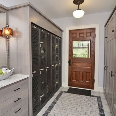 17 best images about locker design on pinterest drawer for Built in lockers