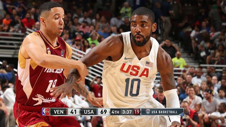 USA vs Venezuela - Full Game Highlights | July 29, 2016 | Exhibition | 2...
