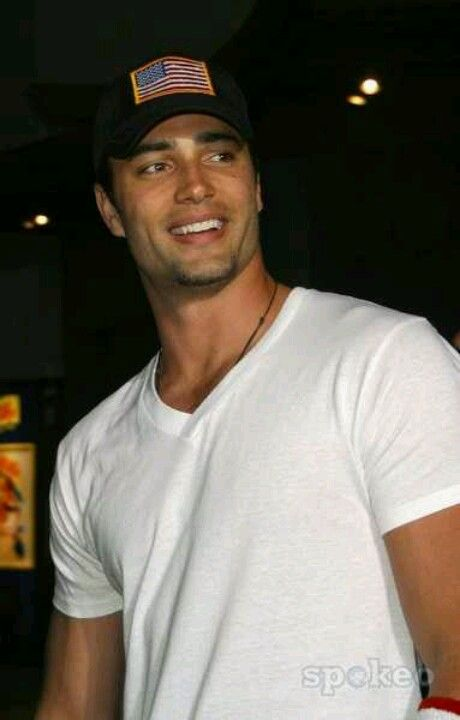 Wow, now this is what I mean by tall, dark, and handsome. Victor Webster