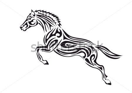 33 best images about tattoos on pinterest beautiful for Horse jumping tattoos