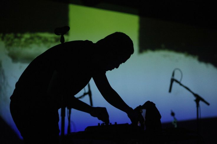 DJ at Le Poisson Rouge. [Photo: Joe Buglewicz/NYC & Company]