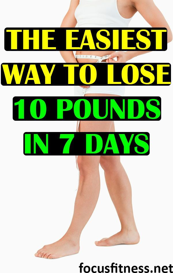 10 Easy Tricks On How To Lose 10 Pounds In A Week Without Exercise