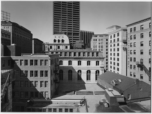 Buildings on Tremont Street, Boston (1975) Nicholas Nixon/George Eastman House collections