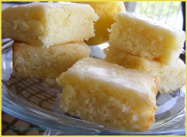 Lemon Brownies | The Taylor House | Page 2