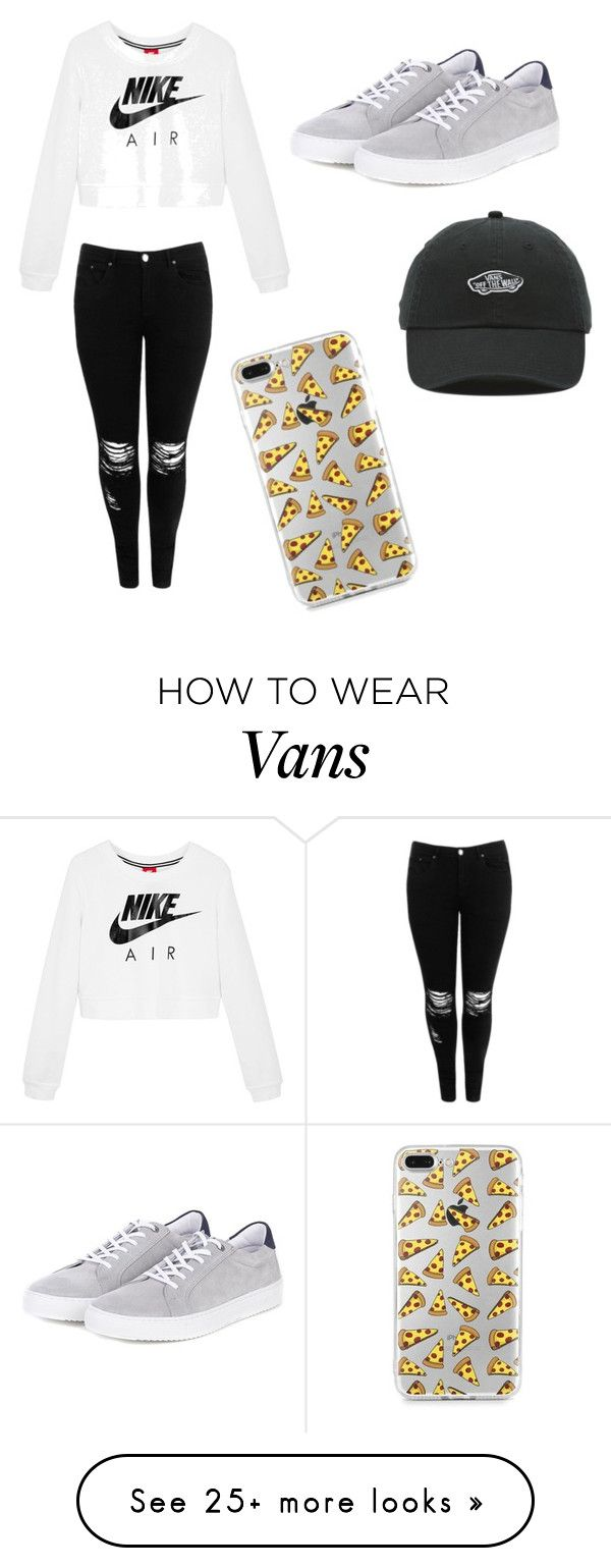 """I want dis!"" by tahlia-s on Polyvore featuring NIKE, Boohoo, Barbour and Vans"