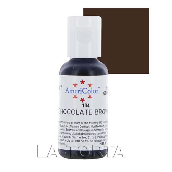 Гелевая краска Америколор Шоколадно коричневая Гелевая краска AmeriColor Шоколадно коричневая (Chocolate Brown) используется для окрашивания мастики, марципана, карамели. Краска находится в удобном флаконе, который сделан из прочных экологически чистых материалов, обеспечивающих долгосрочное хранение красителя.  Характеристики: Объем - 21 гр Страна-производитель - США  http://la-torta.ru/product/gelevaja-kraska-amerikolor-shokoladno-korichnevaja…
