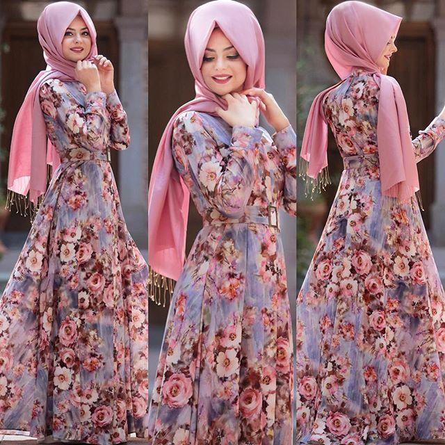Beautiful Turkish Under $100 Hijab Gowns